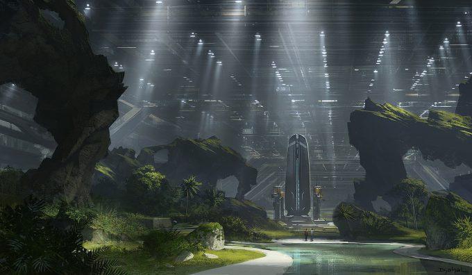 Alien 5 Concept Art Neill Blomkamp Film Project Geoffroy Thoorens Weyland