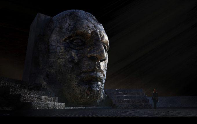 Alien Covenant Concept Art ev shipard bighead04 v01