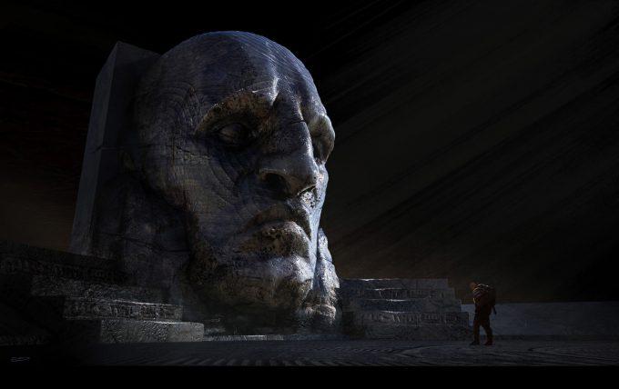 Alien Covenant Concept Art ev shipard bighex revks v02 13
