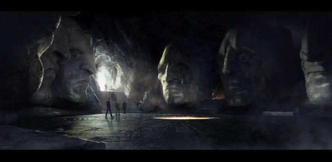 Alien Covenant Concept Art ev shipard cathedralinterior elipse v05 redflame