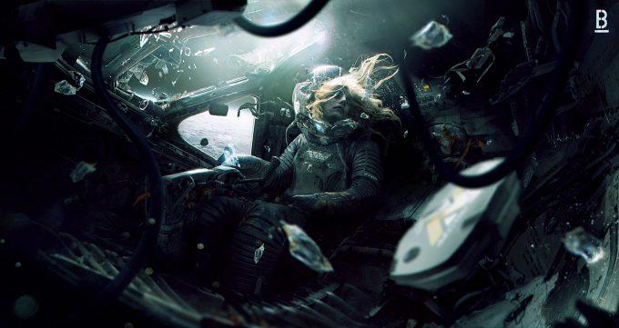 Alien Franchise Concept Fan Art 01 Benoit Godde Weyland Yutani Shuttle