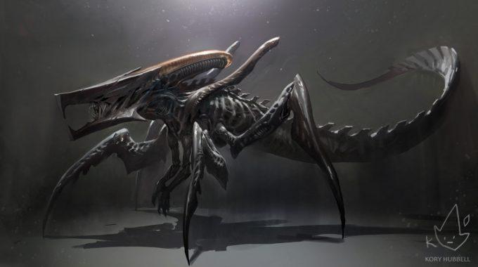 Alien Franchise Concept Fan Art 01 Kory Lyn Hubbell 01