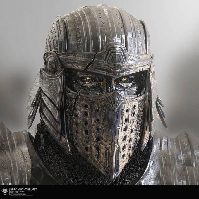 Transformers The Last Knight Concept Art Furio Tedeschi Helmet
