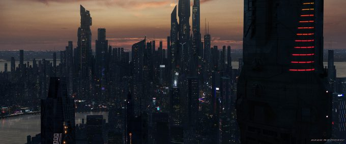 greg semkow concept art CITY ESTAB