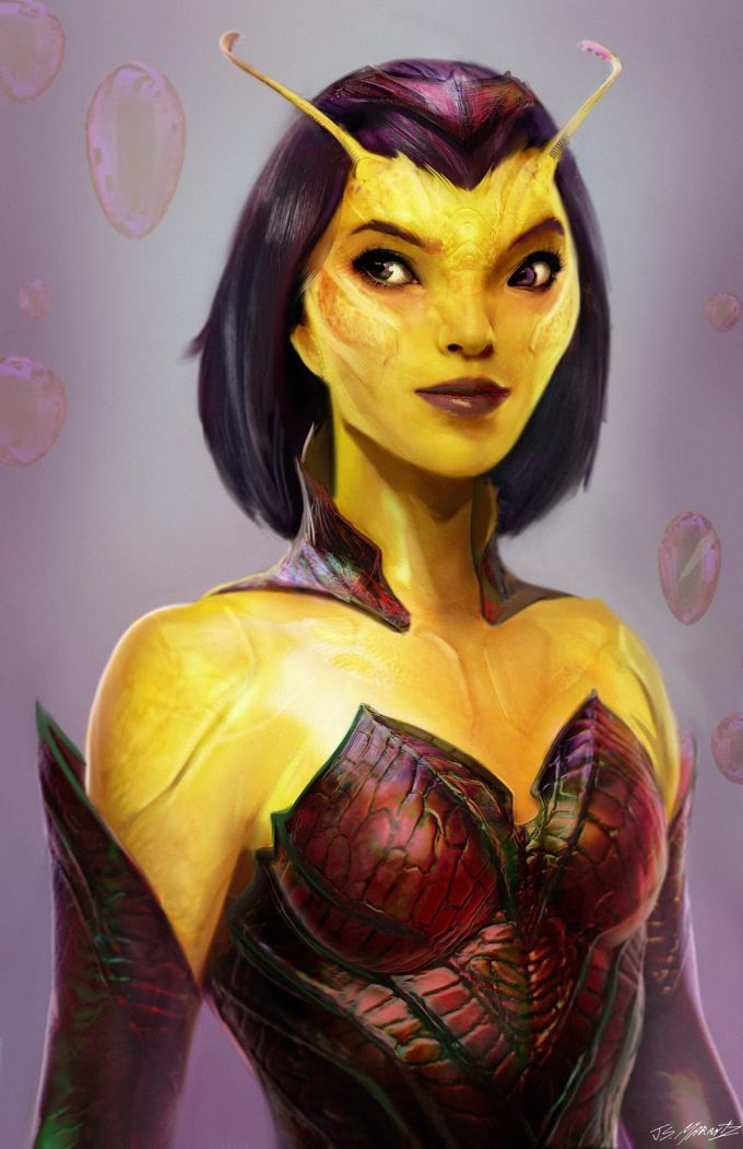guardians of the galaxy vol 2 concept art JSM Mantis CU 1