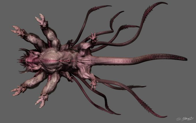 guardians of the galaxy vol 2 concept art JSM Monster ortho bottom