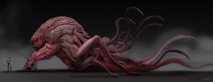 guardians of the galaxy vol 2 concept art JSM Monster variation 2