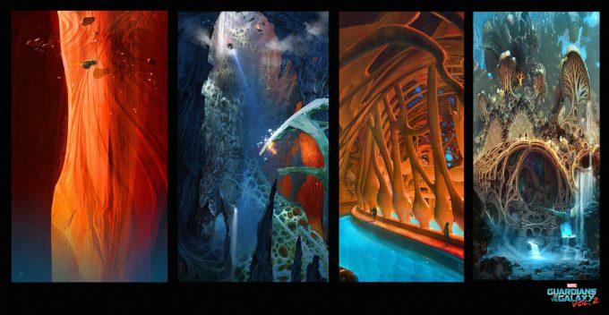 guardians of the galaxy vol 2 concept art john jd dickenson early sketch egoint 01