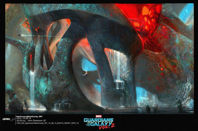 guardians of the galaxy vol 2 concept art john jd dickenson set int ego body cavity heartcenter v2