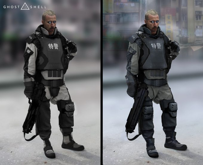 Ghost in the Shell concept art JC GITS2