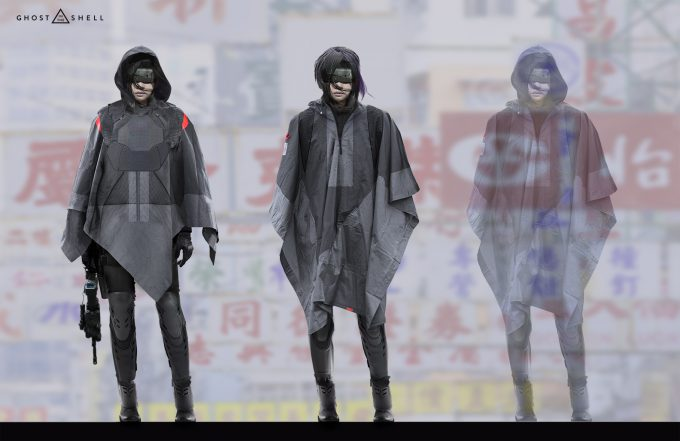 Ghost in the Shell concept art JC GITS7