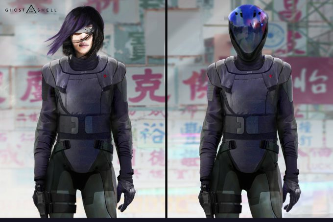 Ghost in the Shell concept art JC GITS8