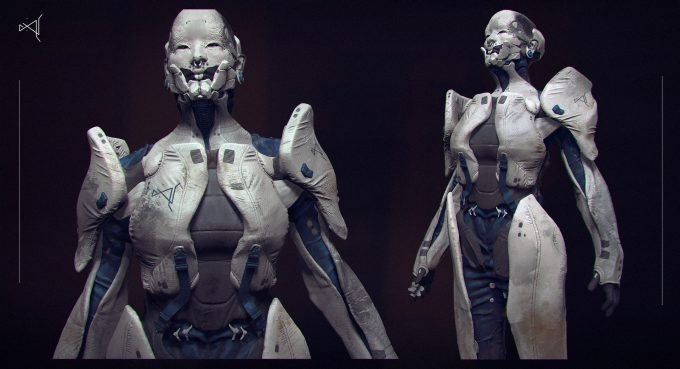 Milan Nikolic concept art design 1