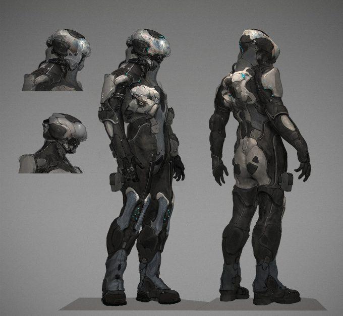 Milan Nikolic concept art design char1