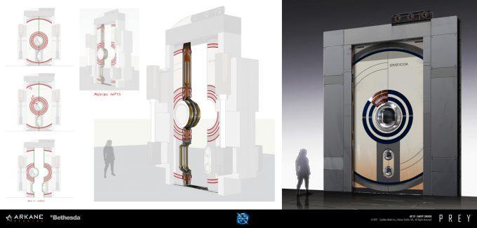 Prey Game 2017 Concept Art Arkane Studios Bethesda DS 04