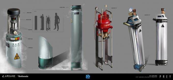 Prey Game 2017 Concept Art Arkane Studios Bethesda DS 09