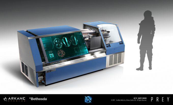Prey Game 2017 Concept Art Arkane Studios Bethesda DS 13
