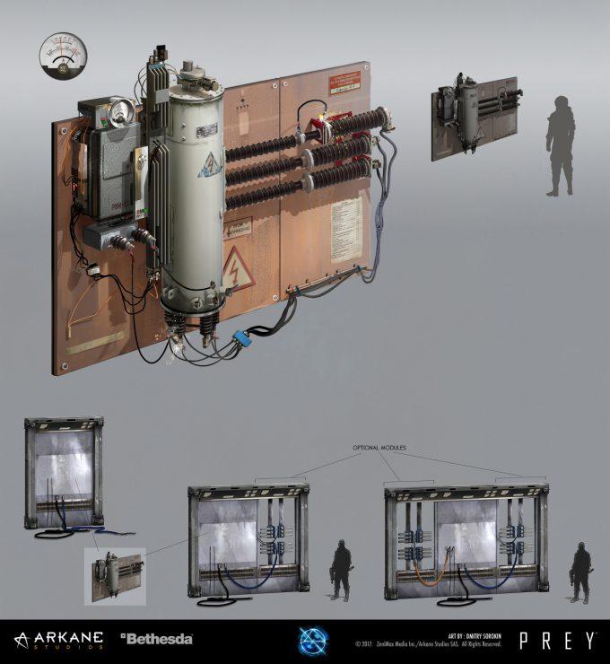Prey Game 2017 Concept Art Arkane Studios Bethesda DS 42