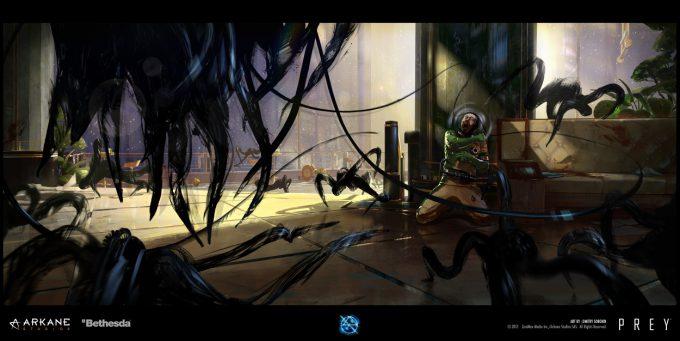 Prey Game 2017 Concept Art Arkane Studios Bethesda DS 51