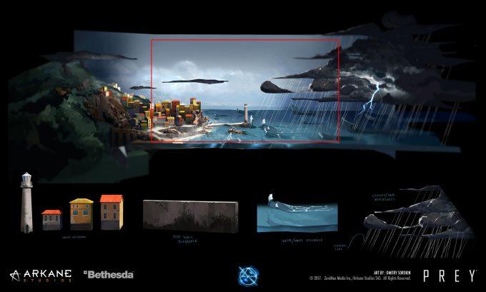 Prey Game 2017 Concept Art Arkane Studios Bethesda DS 60