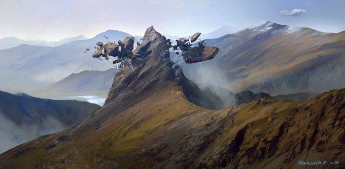 jakub javora concept art mountain nest javoraj