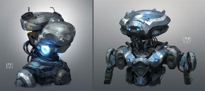 jakub javora concept art robo sketches