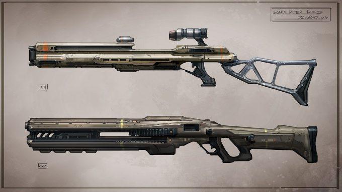jakub javora concept art sand rider rifles