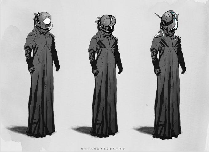 mack sztaba concept art helmet dude