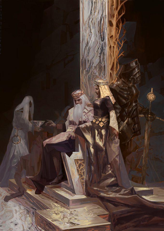 nikolay yeliseyev illustration king