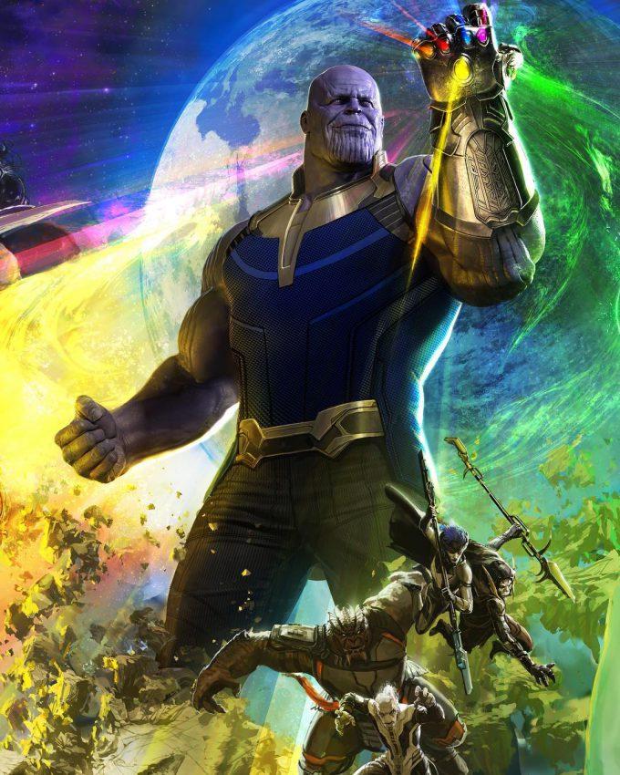 Avengers Infinity War SDCC 2017 Poster Art 01
