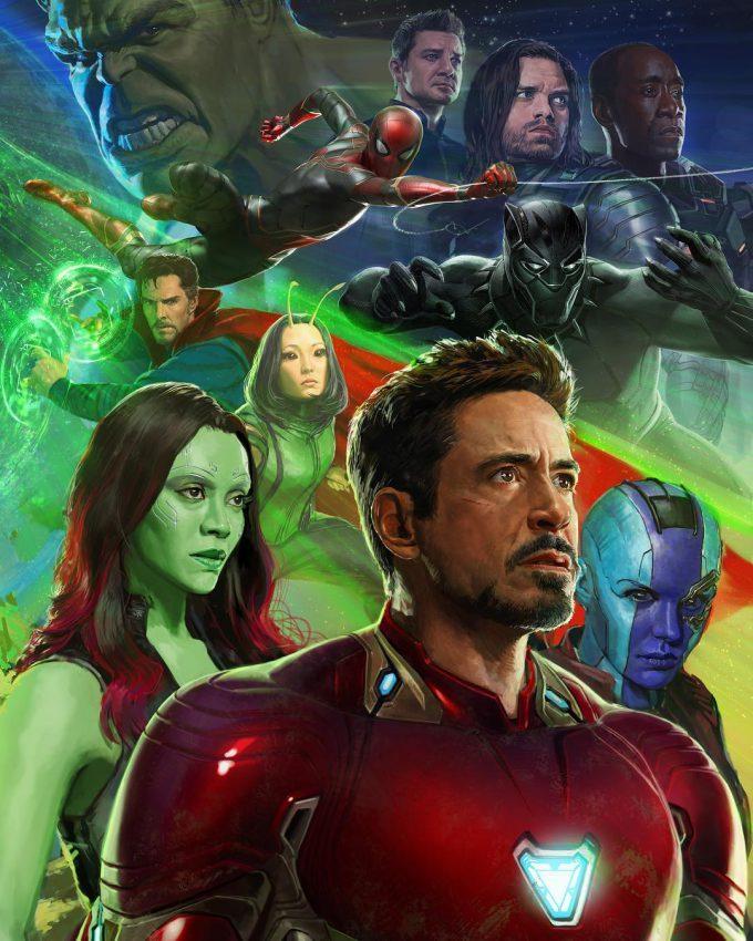 Avengers Infinity War SDCC 2017 Poster Art 02