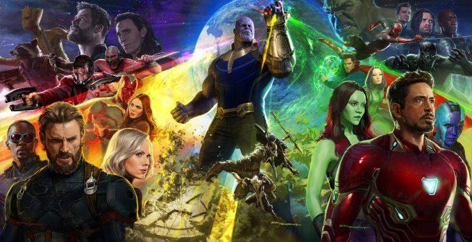 Avengers Infinity War SDCC 2017 Poster Art