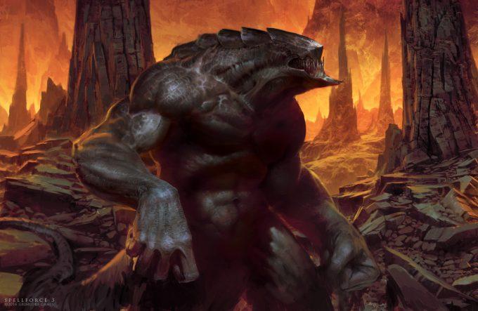 SpellForce 3 Concept Art Raphael Lubke demon17