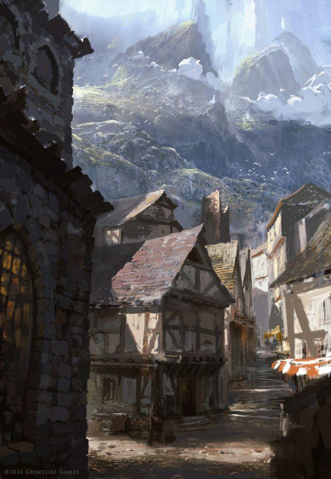 SpellForce 3 Concept Art Raphael Lubke greyfell sketch 1