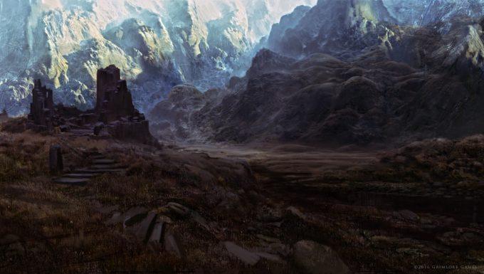 SpellForce 3 Concept Art Raphael Lubke nordic landscape5