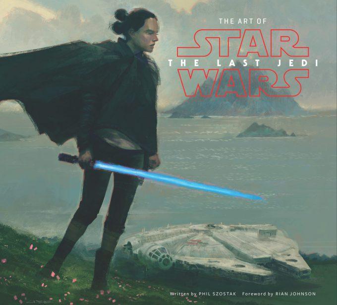 art of star wars the last jedi cover