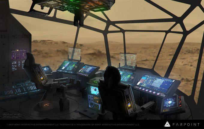 farpoint concept art andre balmet cockpit