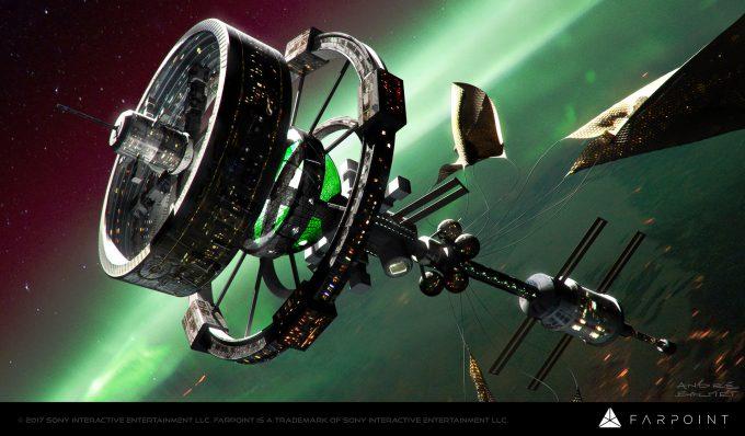 farpoint concept art andre balmet space station