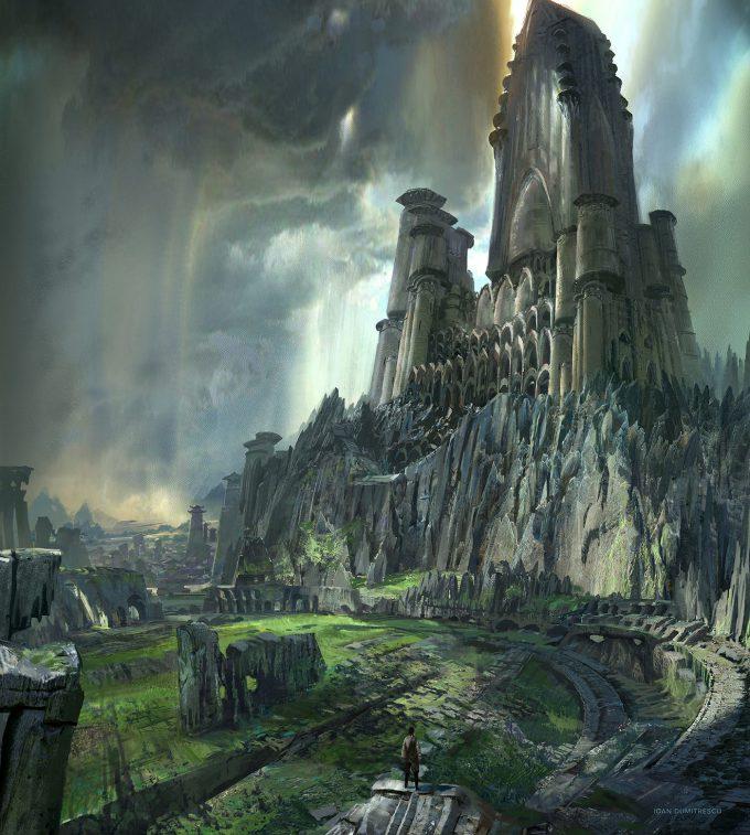 ioan dumitrescu city citadel concept art 01