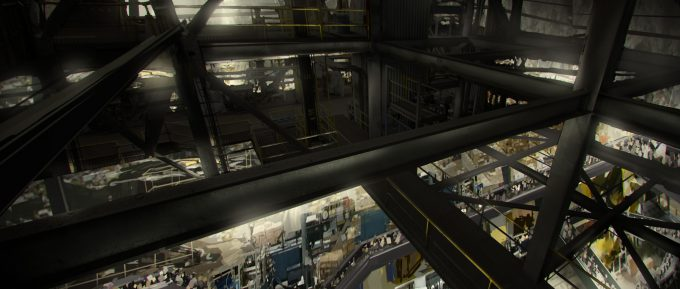 spider man homecoming concept art andrew leung dodc warehouse 02