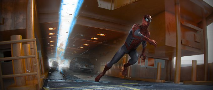 spider man homecoming concept art andrew leung staten island ferry split 02