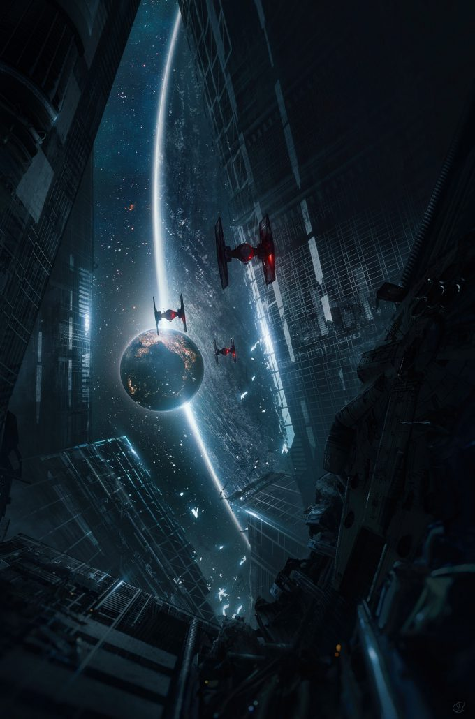 star wars fan art jessica rossier hide and seek fanart starwars the last jedi