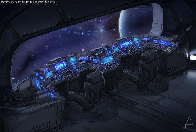 valerian movie concept art ben mauro intruder interior edits 01 bm