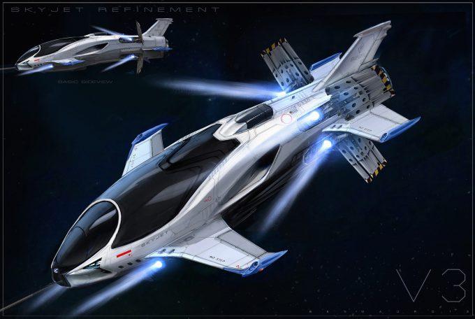 valerian movie concept art ben mauro skyjet lexus updateairbrake 03 bmssss