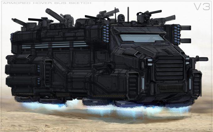 valerian movie concept art ben mauro v bus update 03 bm