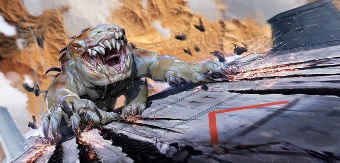 valerian movie concept art ben mauro v megaptor chase 01d bm