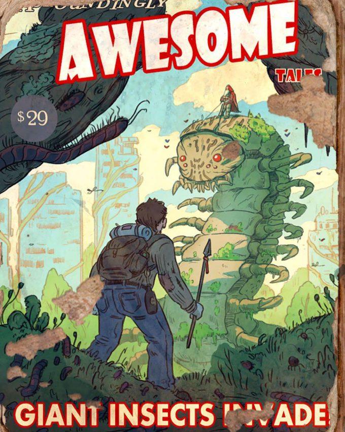 Fallout 4 concept art IN magazine 01