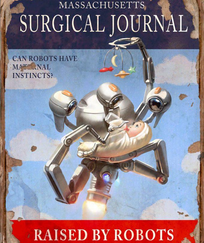 Fallout 4 concept art IN magazine 04
