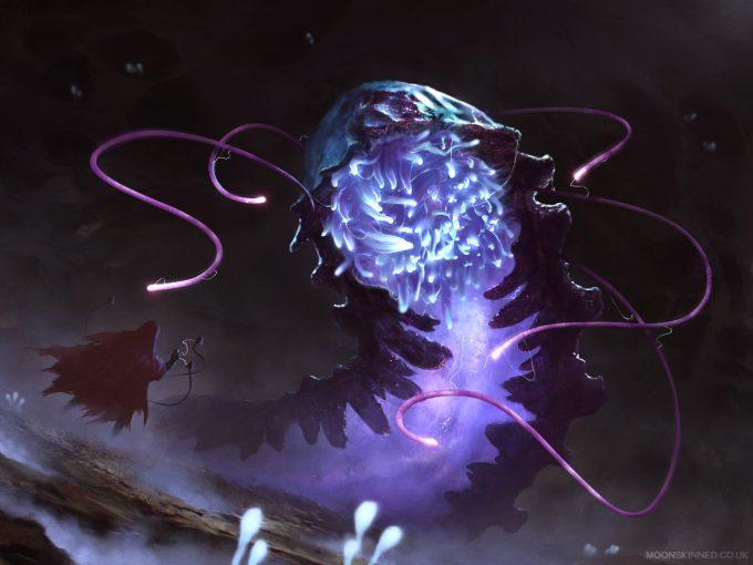 sam lamont art illustration glowing worm hunting