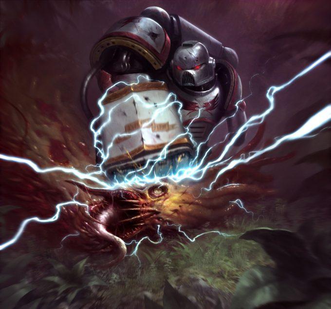sam lamont art illustration whk20 imperial power fist